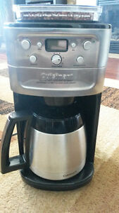 Burr and Grind coffee maker