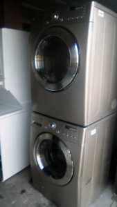 LG washer dryer. Stackable or side by side