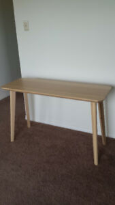 "IKEA MODERN DESK ""LISABO"" -- LIKE NEW"