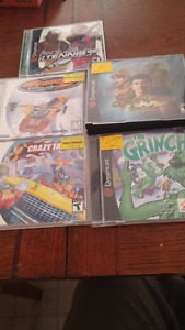 Sega dreamcast and games