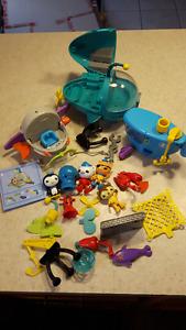Flash, Little People, Octonaut, Lego