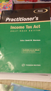 Practitioner's Income Tax Act - 52nd Edition (2017) $50