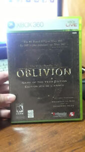 XBOX360- The Elder Scrolls IV Oblivion Game of the Year Edition