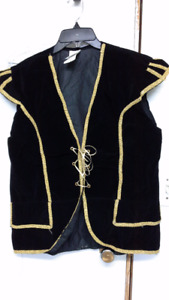 men's pirate vest. One size fits most