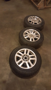 Winter Volkswagon tires and rims 195/65/r15