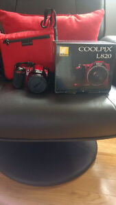 Canon Coolpix L820 with Carrying Case