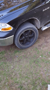 Ram 1500 wheels and tires