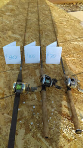 Bait-casting rod and reel combos