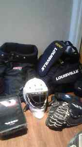 Equipement de gardien de but