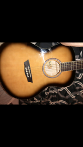 Nice George Washburn limited edition acoustic guitar