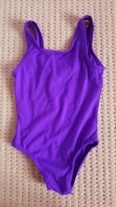 Purple Ballet Body suit size 6x 7 with shoes and tights
