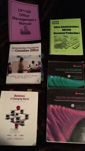 Office administration books.