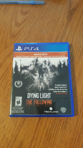 Dying Light: The Following Enhanced edition for PS4