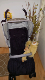 MY BABIIE BUGGY + FOOTMUFF & RAINCOVER **FREE DELIVERY HULL**