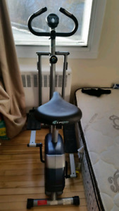 Stationary bike and elliptical