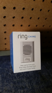 RING wifi enabled Doorbell Chime