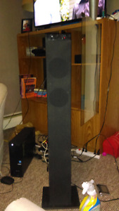 Tall A+ bluetooth speaker tower 100obp
