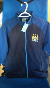 New Manchester City Jacket and Jersey - Mens Med.-Large
