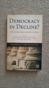 Democracy in Decline? by Diamond and Plattner