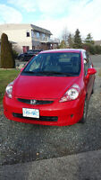 2007 Honda Fit LX w/Cruise Control Hatchback
