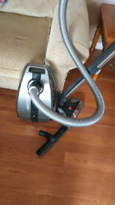 Hoover canister quiet performance vacuum