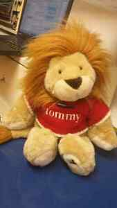 Tommy Hilfiger lion stuffed animal