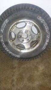 16 inch chev truck rims and tires