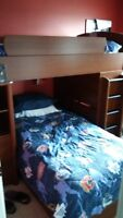 BUNK BED AND DRESSER