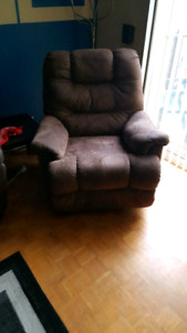 Fauteuil bercant inclinable