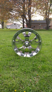 22 inch 6 bolt Ford rims for sale