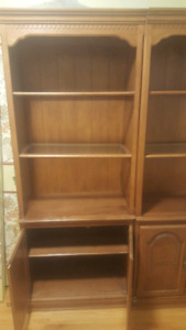 Solid wood hand made cabinets