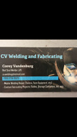 CV welding and fabricating