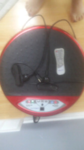 Vibra fit exercise machine