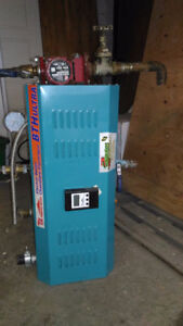BTH Ultra 33 Electric boiler with water circulation pump