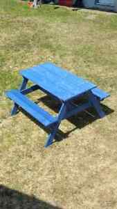 Pre-school Children's Picnic Table