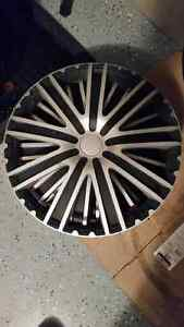4 used hubcaps universal 16 inch