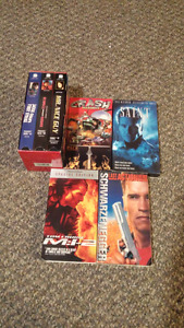 Jackie Chan, Arnold, Tom Cruise VHS Movies