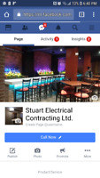 Journeyman electrician available for all your electrical needs.