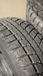 4 TOYO winter tires with rims for sale - 235/70R16 106s - $ 350 Gatineau Ottawa / Gatineau Area image 4