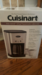 Cusinart coffee maker brand new