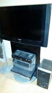 Téléviseur Samsung 32 pces et meuble audio