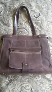 Buxton leather commuter bag
