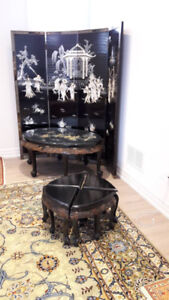 Multiple Items - Antique Furniture, dishes and rugs