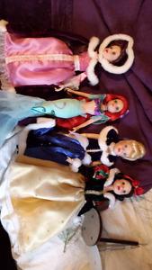 Porcelain disney princesses