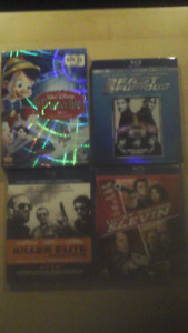 Over 60 DVD movies price drop great deal