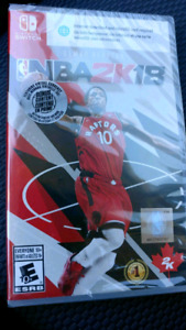 NBA 2K18 NINTENDO SWITCH NEW