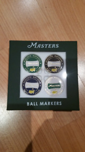 2018 Masters Golf Ball Marker Set