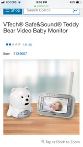 VTech® Safe&Sound® Teddy Bear Video Baby Monitor
