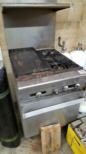 "24"" Stove with Griddle"