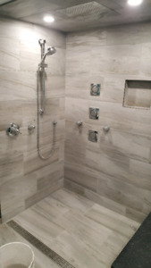 Professional tile and flooring installations